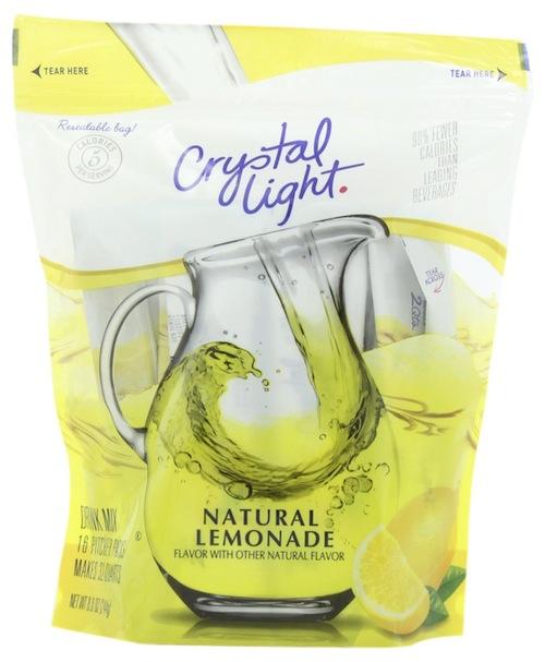 cyrstal light lemonade
