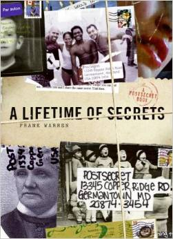 postsecret book - a lifetime of secrets