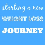 Starting Weight – New Weight Loss Journey
