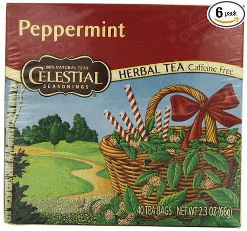 ikarian herbal tea peppermint flavor