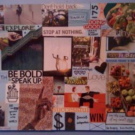 Using A Vision Board To Think About The Future