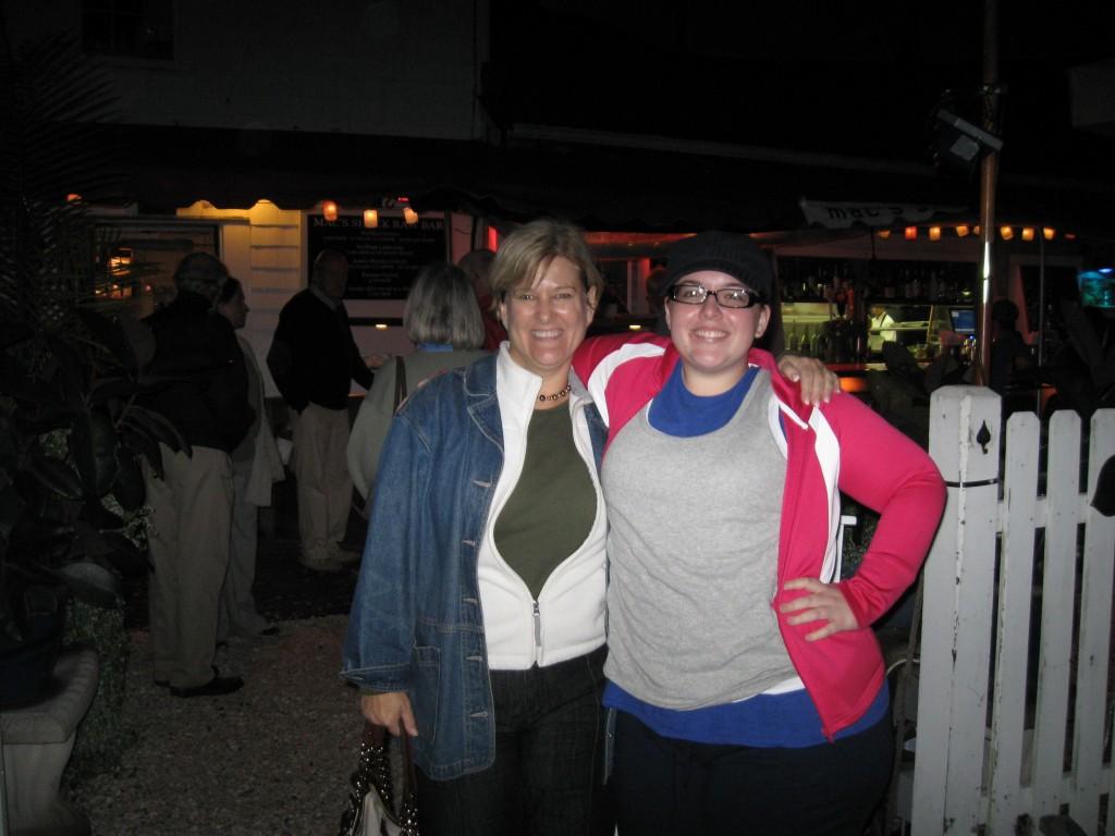 Karen and Mary at Mac's Shack
