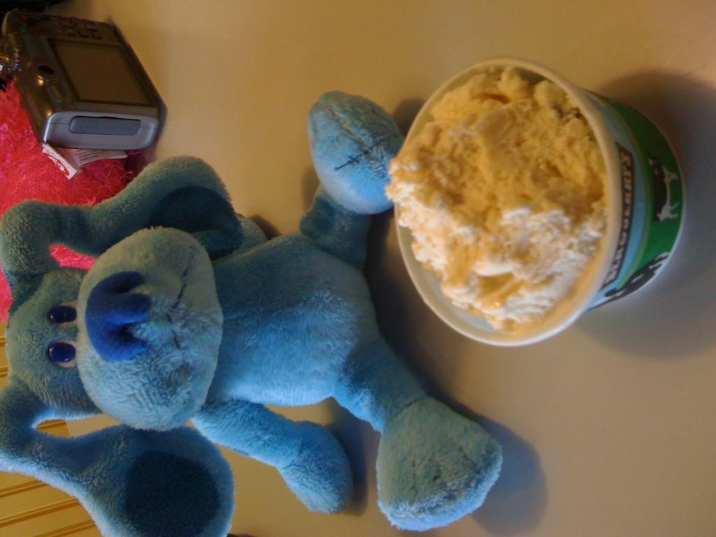 Blue and Ice Cream