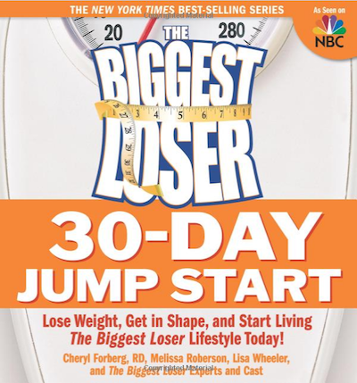 christmas gift idea - biggest loser book