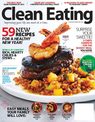 christmas gift idea - clean eating magazine