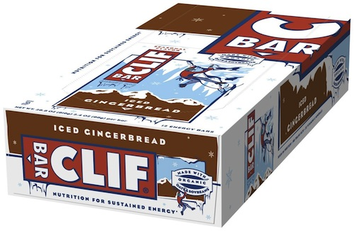 christmas gift idea - iced gingerbread clif bars
