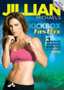 kickboxing workout dvd - jillian michaels kickbox fastfix