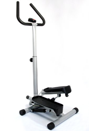 stairs workout - stepper with handle bar