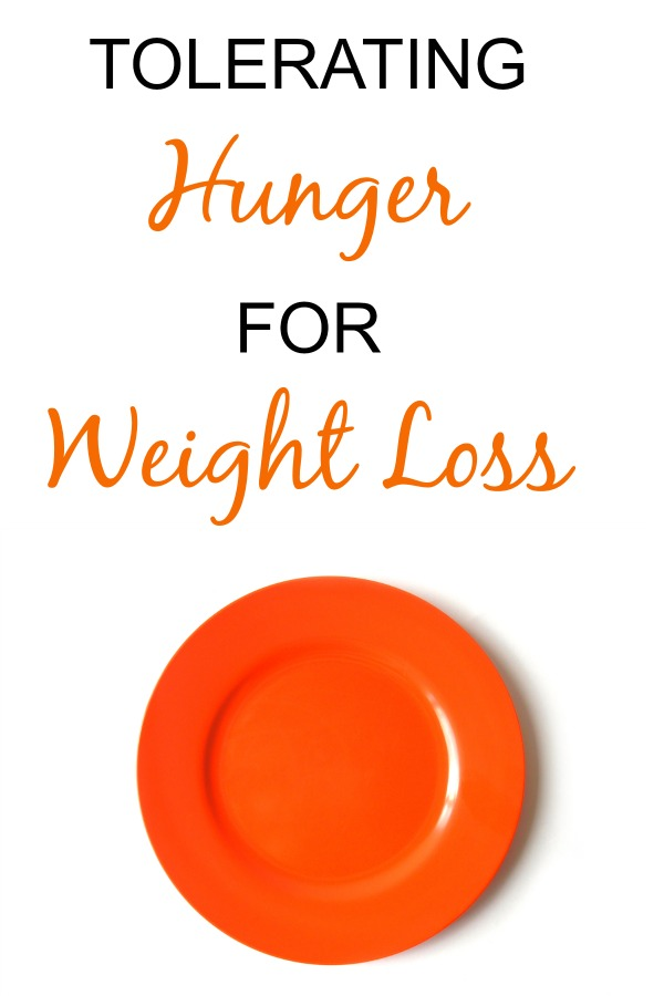 Tolerating hunger for weight loss amerrylife.com