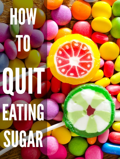 how to quit eating sugar