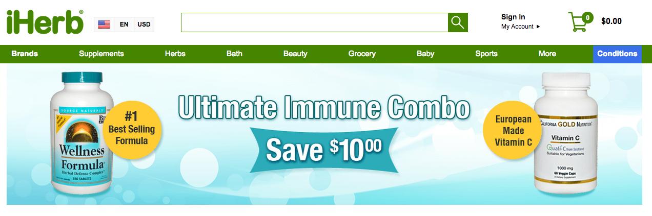 i herb website for supplements