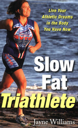 beginner triathlon training resources - slow fat triathlete book