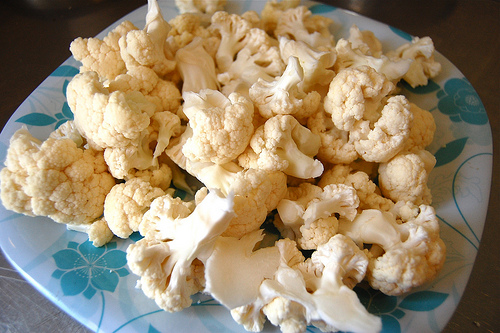cauliflower florets - how to make cauliflower