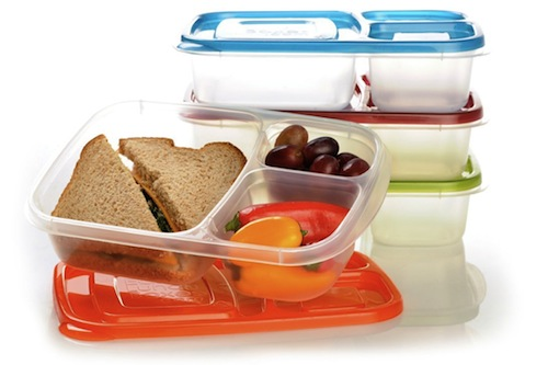 easy lunchboxes container set bento box