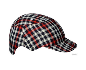 Cool bike helmet black checker