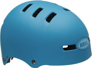 cool bike helmet blue multi sport helmet