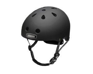 Cool bike helmet nutcase black matte