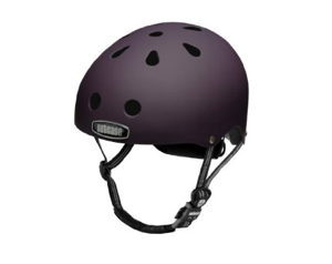 Cool bike helmet nutcase purple matte