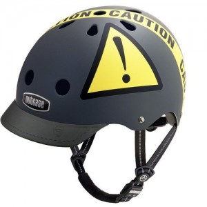 urban caution bike helmet