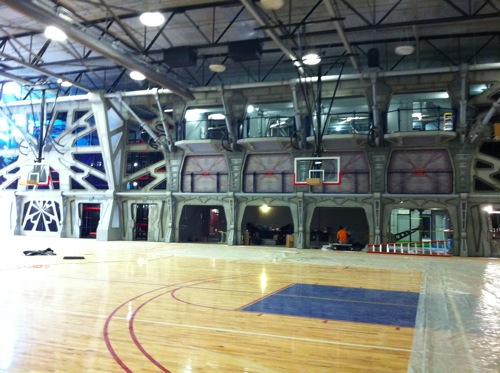 Kroc center basketball gym