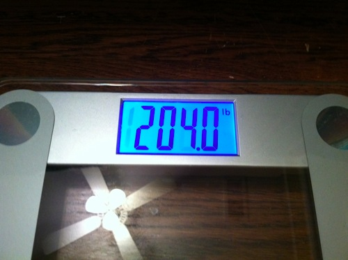 Weigh in 2013