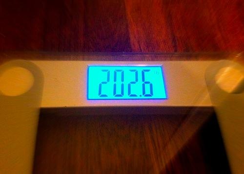 Weigh in jan 16