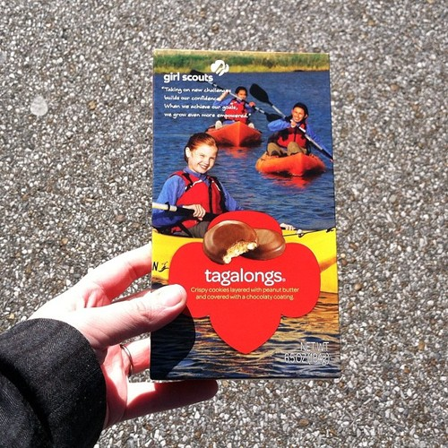 girl scout cookies tagalongs
