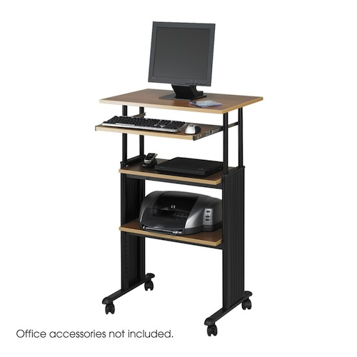 standing desk - safco muv stand-up adjustable desk