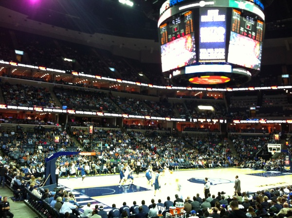 Memphis grizzlies game