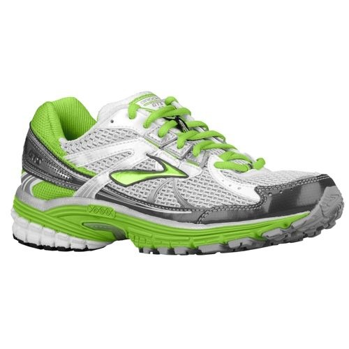 brooks adrenaline gts 13 running shoes green
