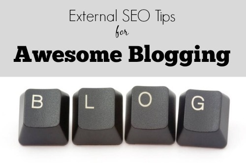external SEO tips for blogging