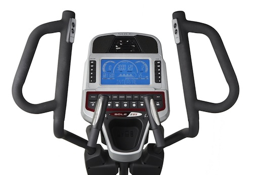 Sole Fitness E95 Elliptical Machine display
