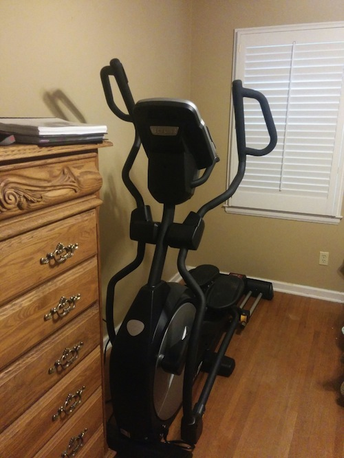 sole fitness e95 elliptical machine at home