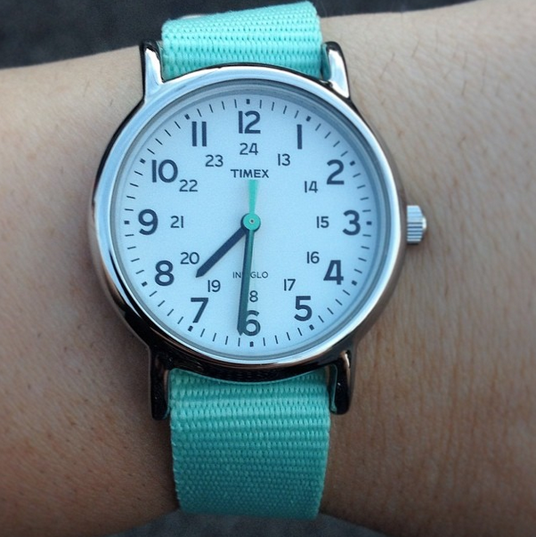 timex mint watch
