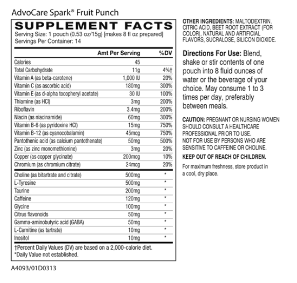 advocare weight loss - advocare spark ingredients