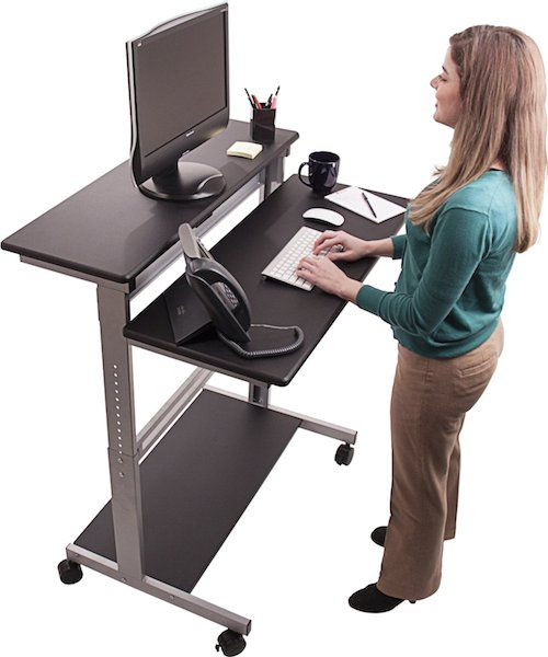 healthy christmas gift idea - standing desk