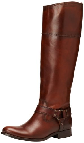 wide calf boot - FRYE Women's Melissa Harness InSide-Zip Boot- Wide Calf
