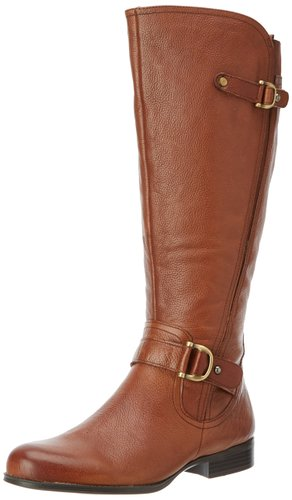 wide calf boot - Naturalizer Women's Jersey Wide Shaft Knee-High Boot