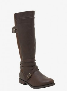 wide calf boot - torrid strappy boot