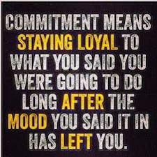 commitment motivation