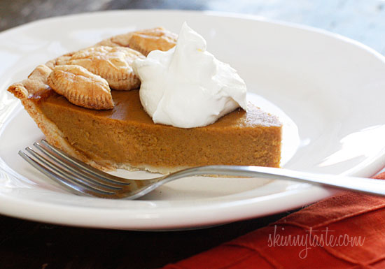 ... rather just have a lighter pumpkin pie, this recipe is perfect