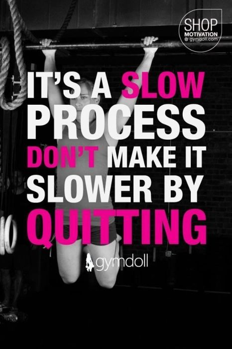 fitness motivation quote - dont quit
