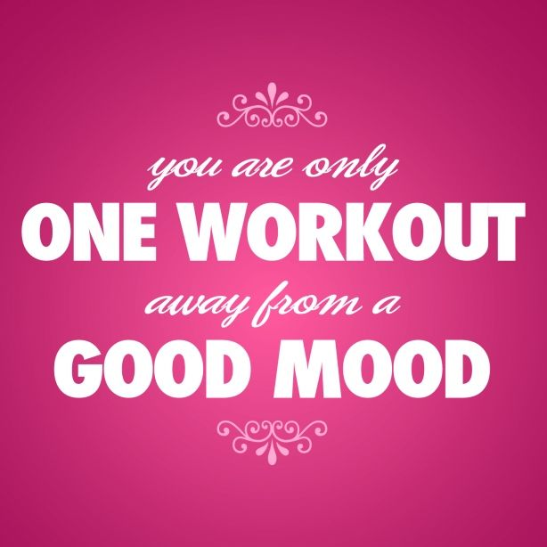 fitness motivation quote - one workout