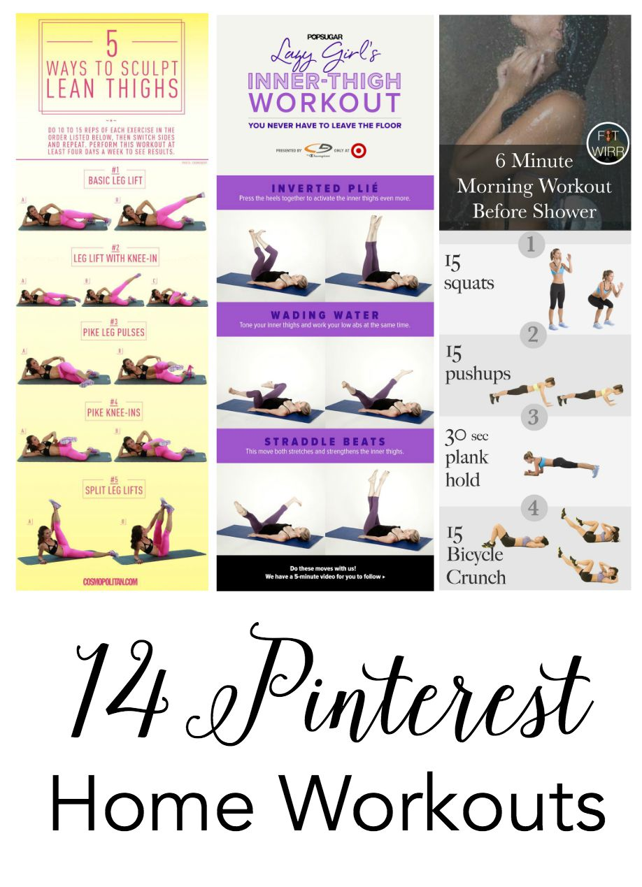 14 pinterest home workouts