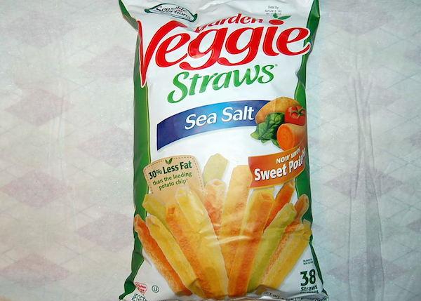 grocery haul - veggie straws