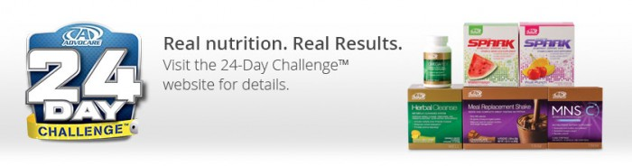 24 day advocare challenge