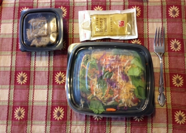 AdvoCare 24 Day Challenge – Day 7 lunch
