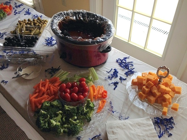 bridal shower lunch - advocare day challenge day 21