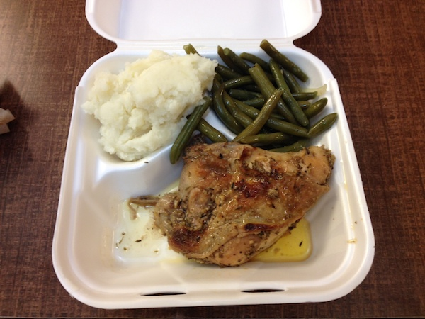 chicken and green beans - advocare 24 day challenge