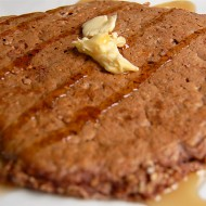 Chocolate Protein Oatmeal Pancake Recipe